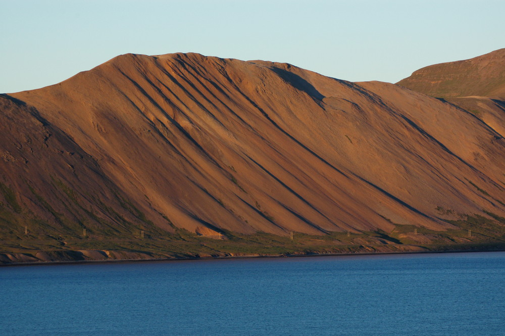 Abendstimmung in den Westfjorden Islands