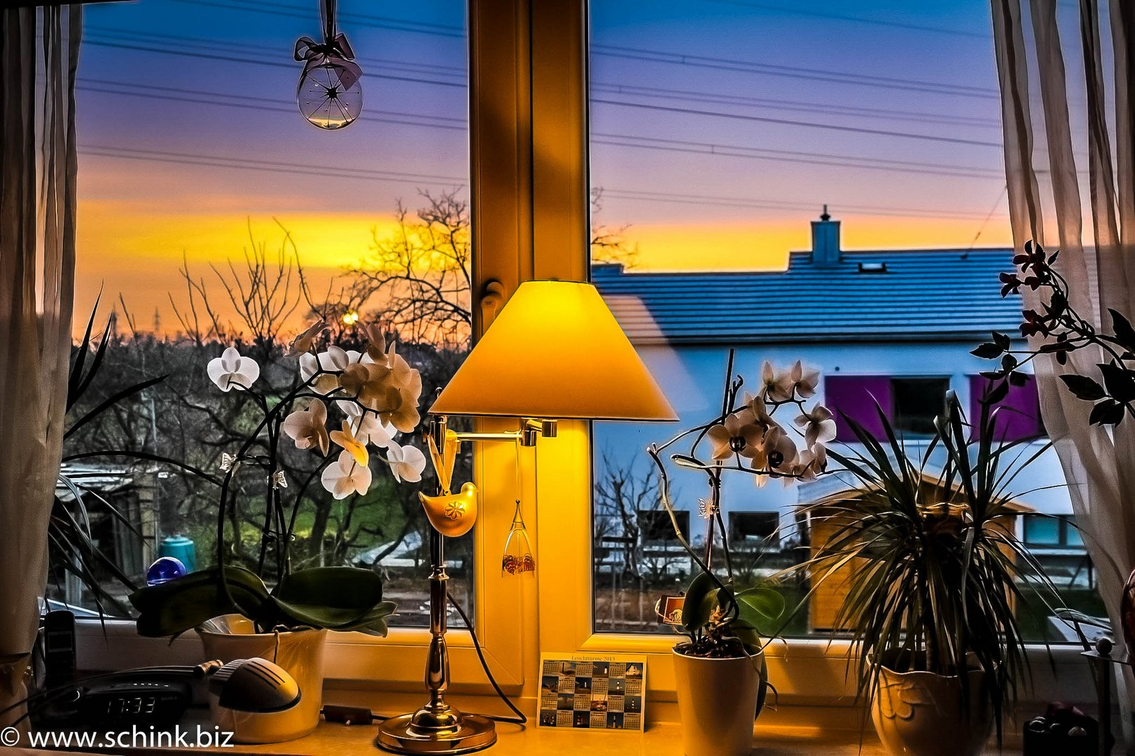 Abendstimmung in Eppelheim
