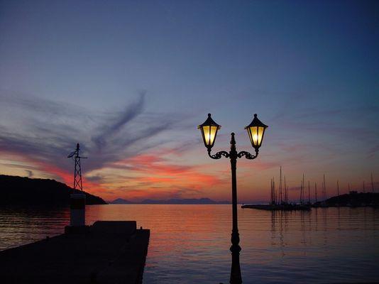Abendstimmung in Griechenland
