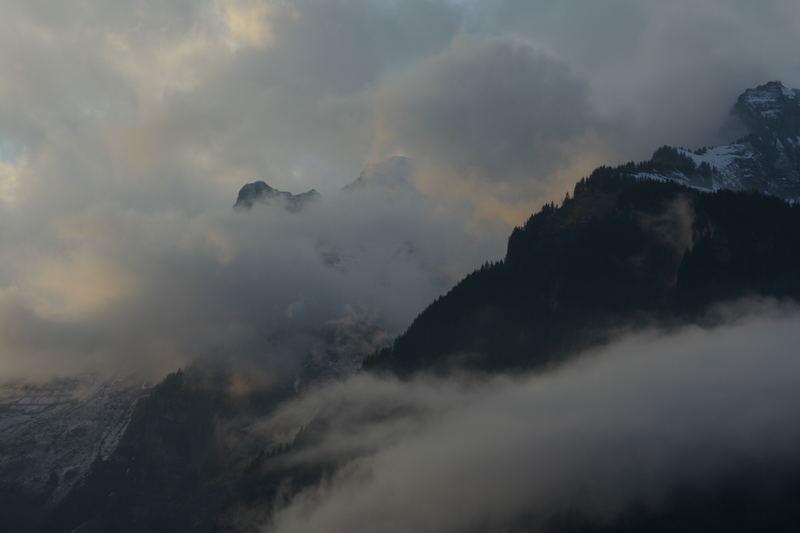 Abendstimmung in Grindelwald (CH)