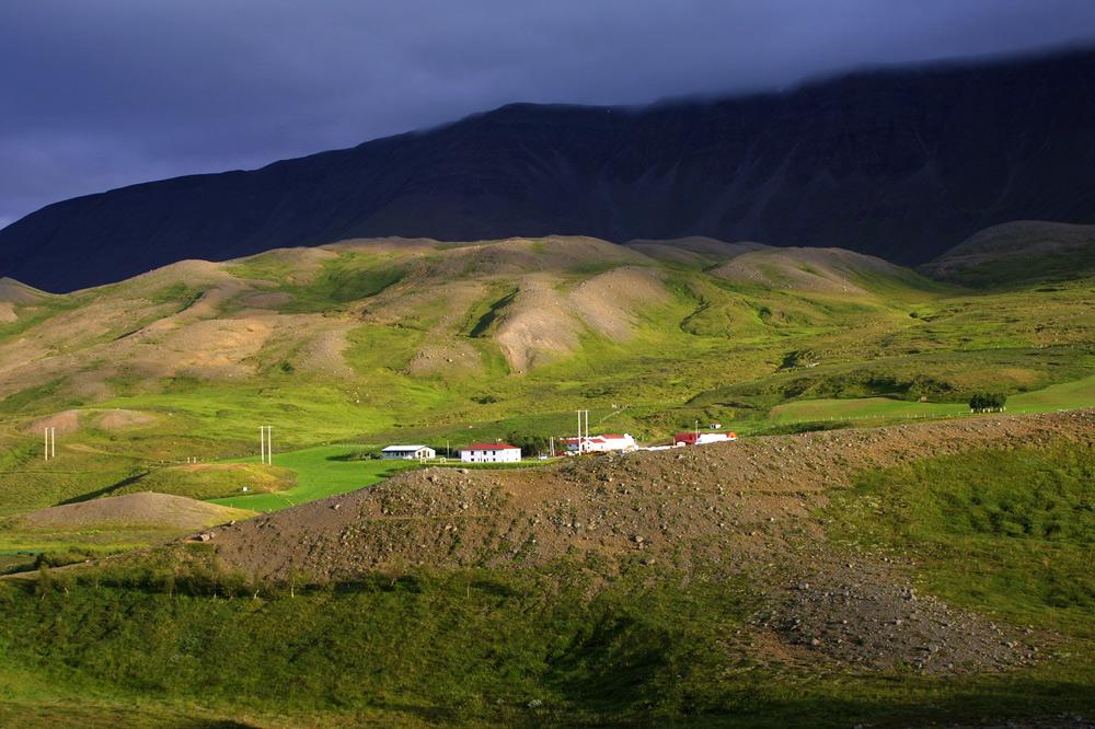 Abendstimmung in Island