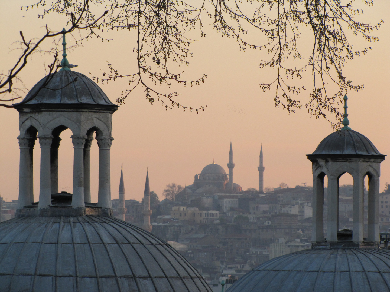 Abendstimmung in Istanbul