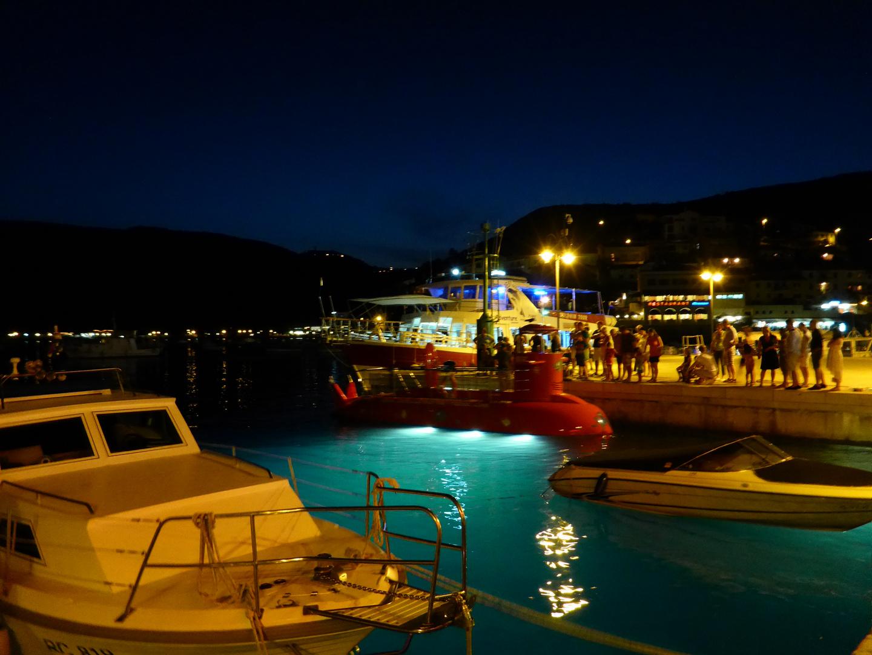 Abendstimmung in Kroatien