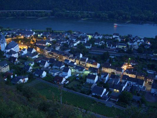 Abendstimmung in Leutesdorf / Rhein