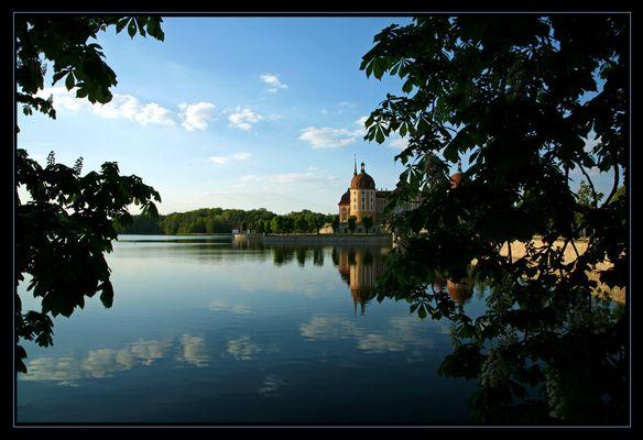 Abendstimmung in Moritzburg