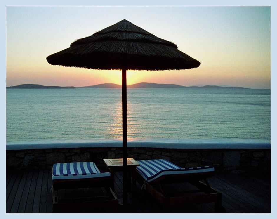 Abendstimmung in Mykonos