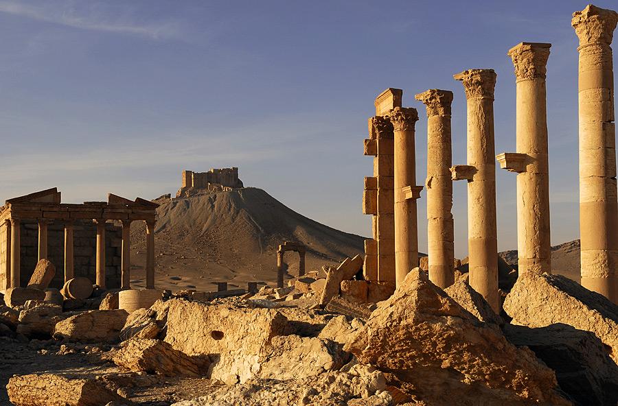 Abendstimmung in Palmyra