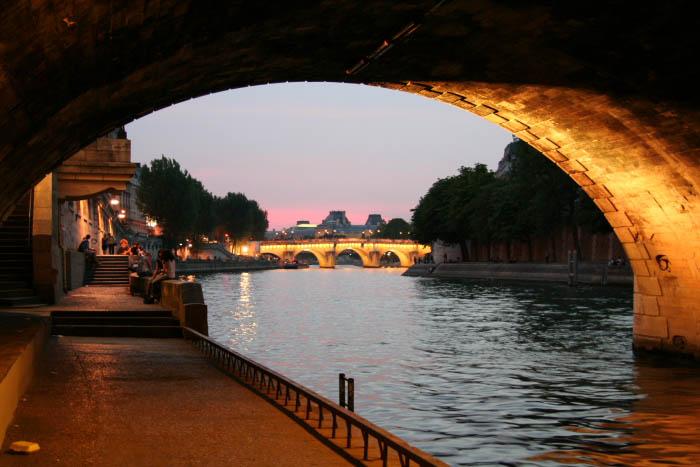 Abendstimmung in Paris