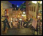 Abendstimmung in Québec
