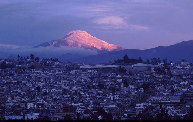 Abendstimmung in Quito