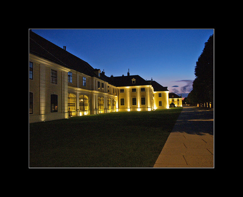 ...Abendstimmung in Schönbrunn Teil III