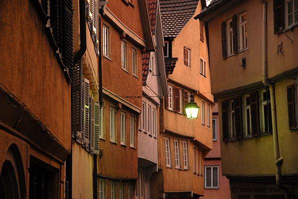 Abendstimmung in Tübingen