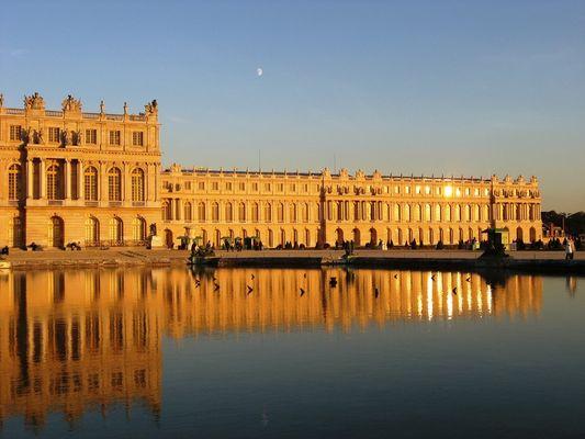Abendstimmung in Versailles
