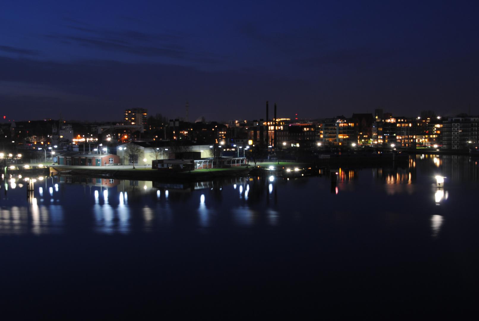 Abendstimmung in Wilhelmshaven