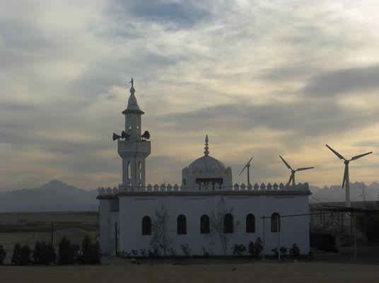 Abendstimmung - Kleine Moschee bei Hurghada