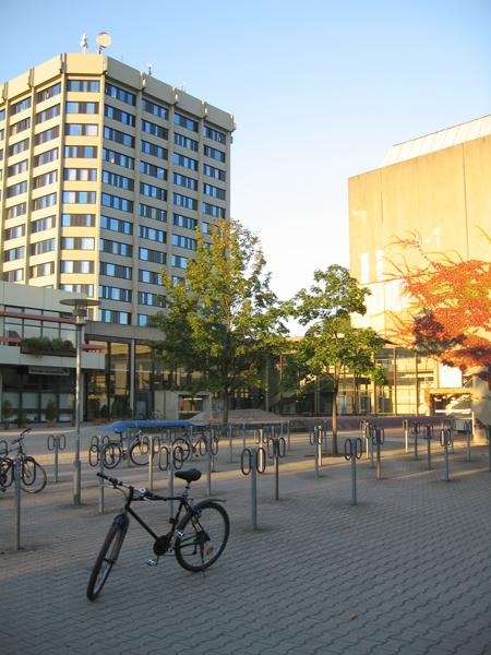 Abendstimmung Kleiner Campus Göttingen