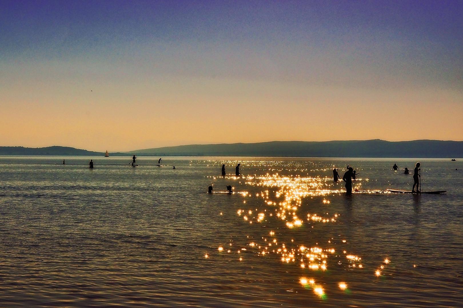 Abendstimmung Neusiedler See 2
