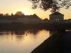 Abendstimmung Nymphenburger Schloss