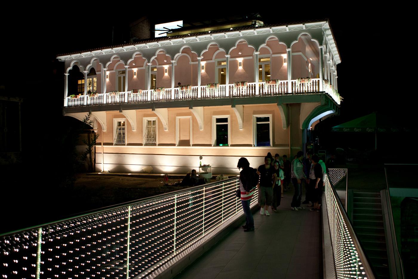 Abendstimmung: Tbilisi