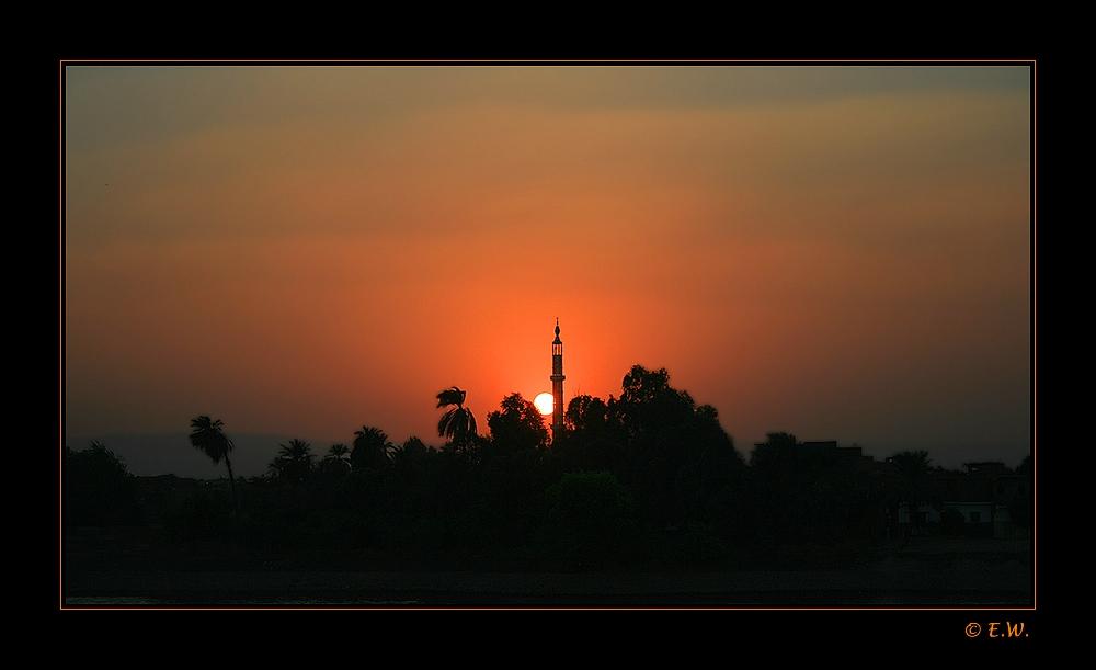 ~~ Abendstimmung über dem Nil ~~