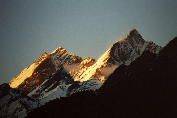 Abendstimmung über Zermatt