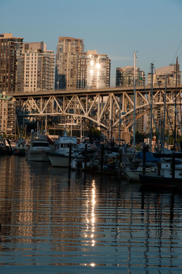 Abendstimmung Vancouver