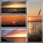 Abendstimmungen an der Ostsee