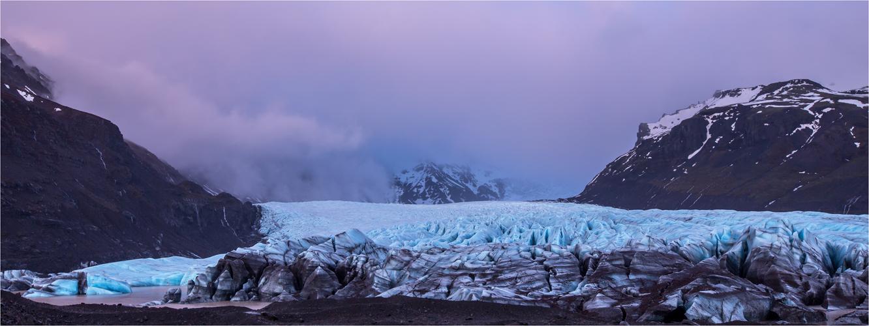 Abenstimmung am Gletscher