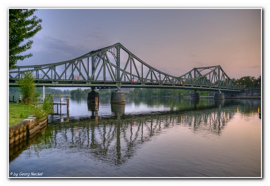 Abenstimmung Glienicker Brücke