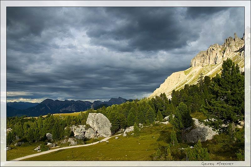 Abenstimmung in den Dolomiten
