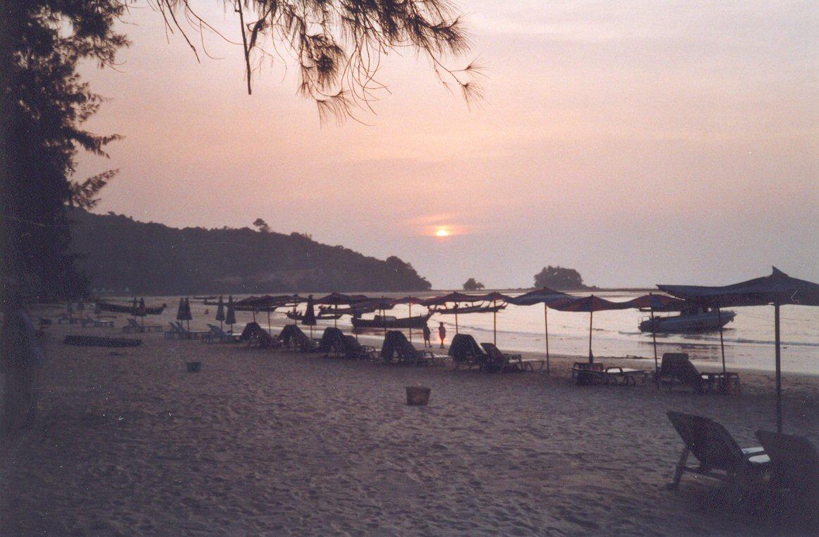 Abenstimmung, Strand von Phuket