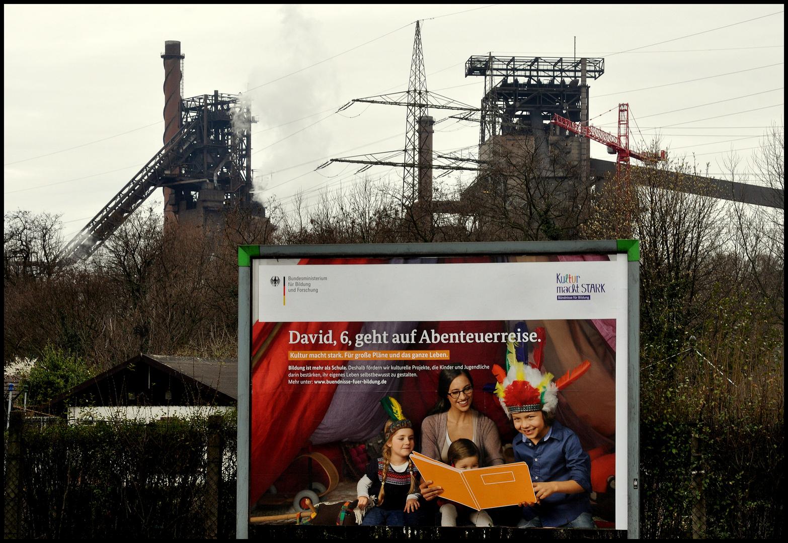 Abenteuerreise...im Kopf mit einem Buch oder per Fuß in Duisburg-Marxloh