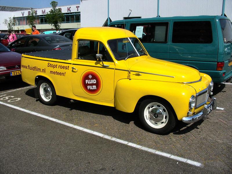 Aber auch ein Volvo-Pickup