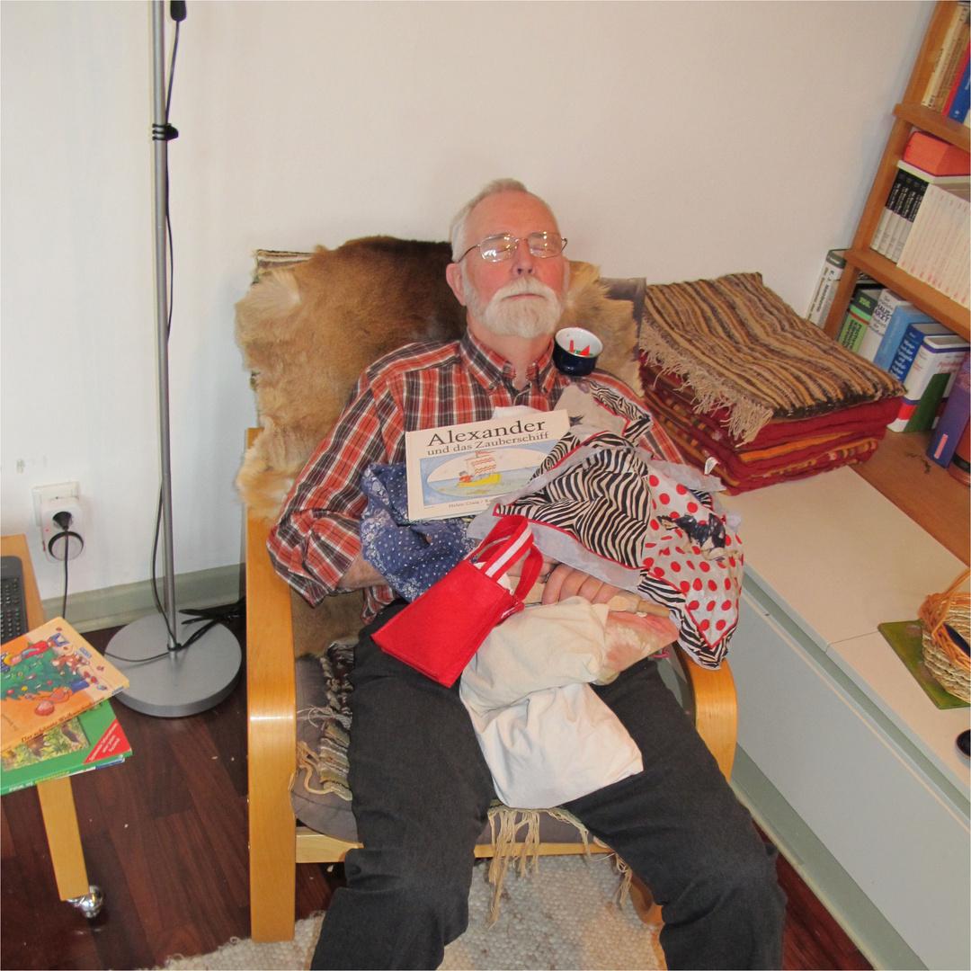 ...aber da war opa schon eingeschlafen...
