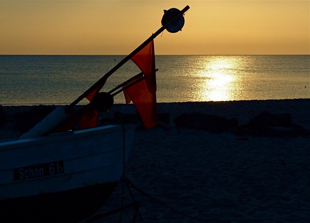 Aber Ostseesonnenaufgänge sind auch schön.