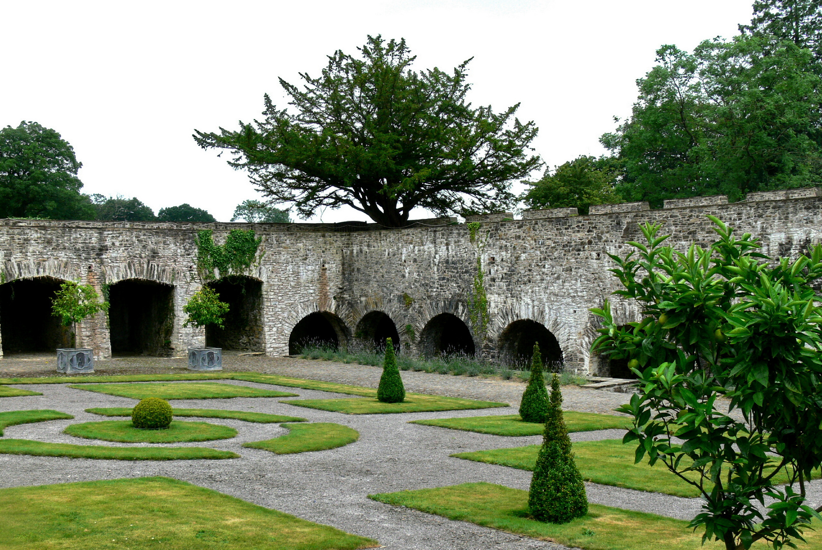 Aberglasney House and Gardens I