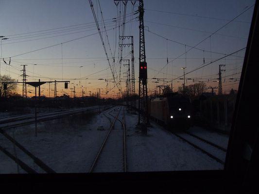 Abfahrbereit, Emmerich den 5-1-2009