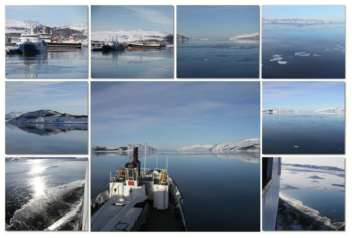 Abfahrt von Kirkenes