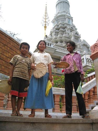 Abfangjäger in Oudong