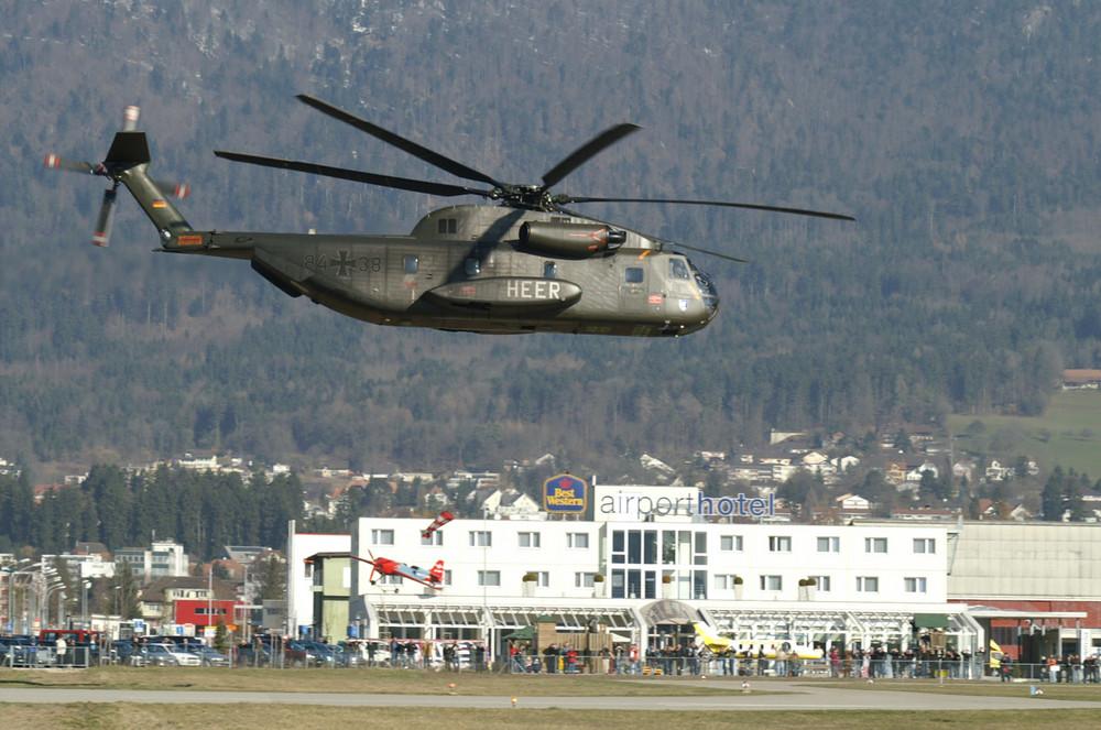 Abflug von Sikorsky CH-53 G