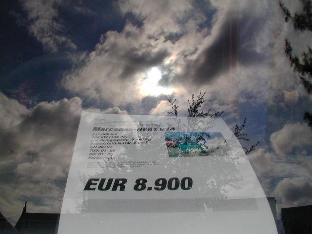 Abgehobener Preis...