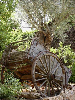 abgestellt - alter Wagen