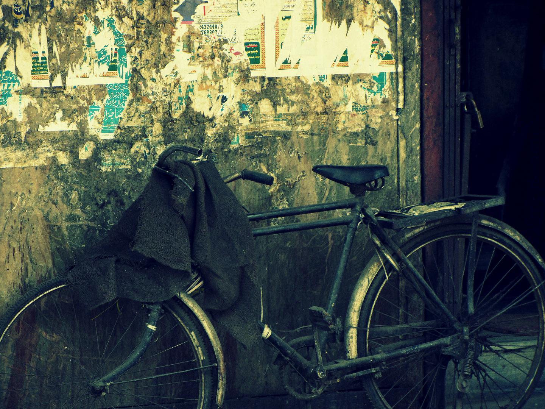 Abgestellt - Bombay - Indien