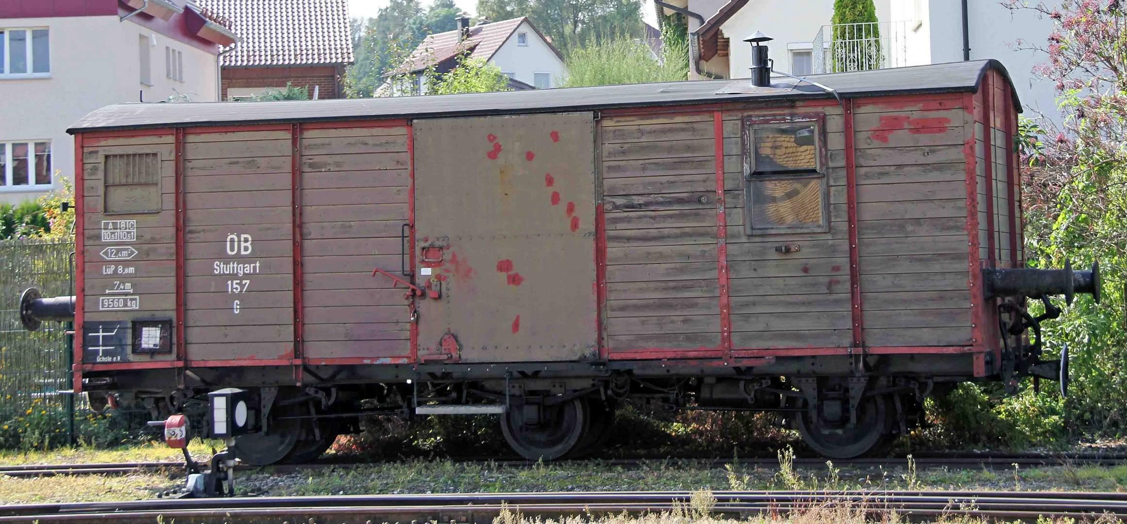 Abgestellter Wagon