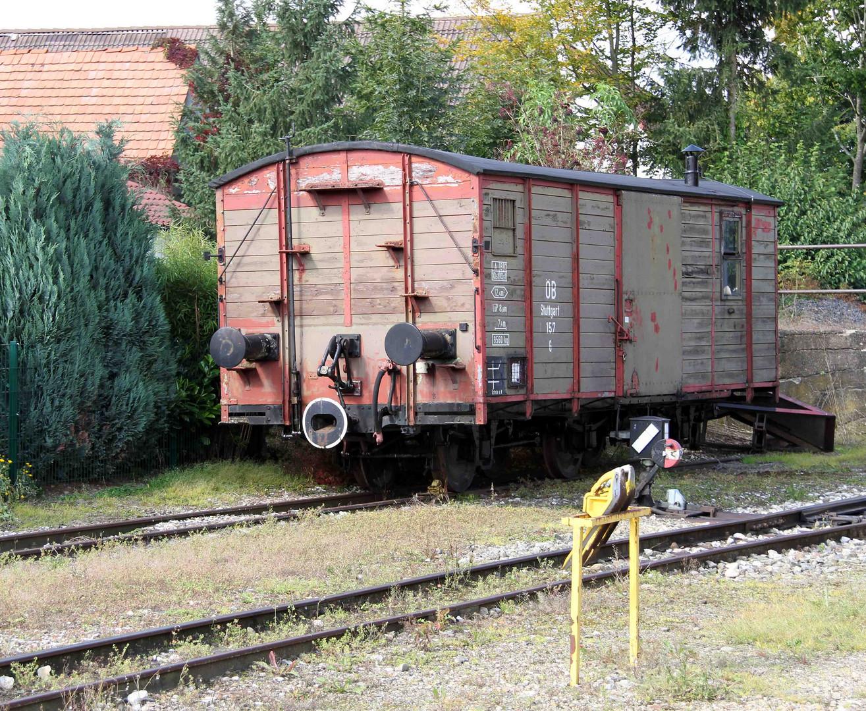 Abgestellter Wagon 2