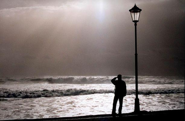 Abklingender Sturm