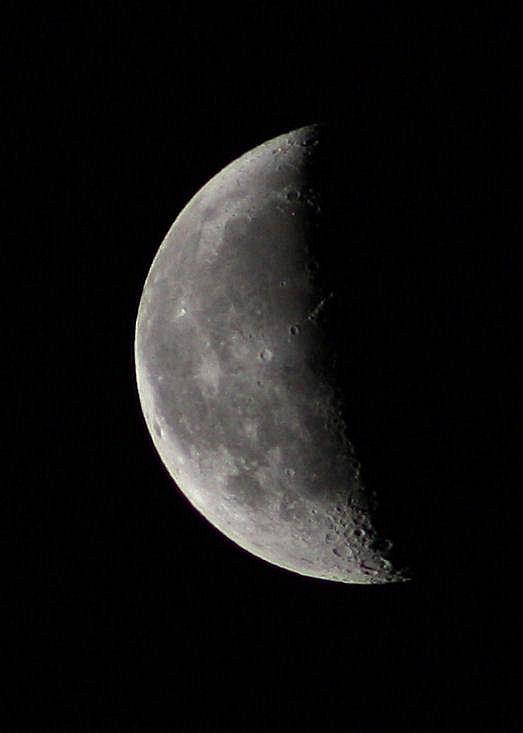 Abnehmender Mond