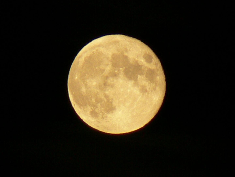 Abnehmender Mond vom 20.10.2013