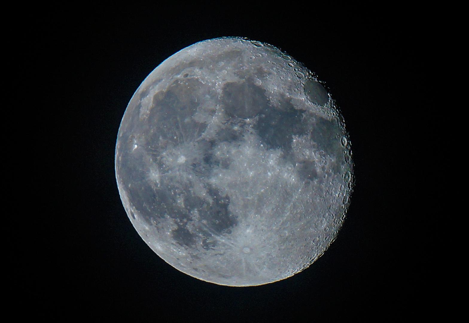 Abnehmender Mond vom 21.09.2013