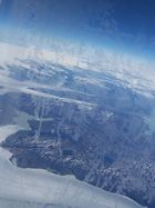 above Greenland